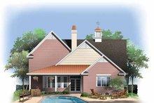 Contemporary Exterior - Rear Elevation Plan #929-845