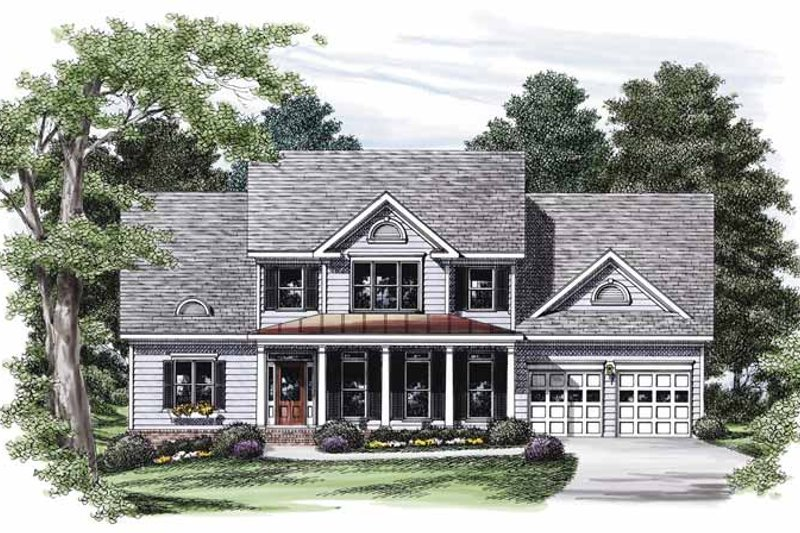Country Exterior - Front Elevation Plan #927-817 - Houseplans.com