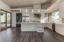 Contemporary Interior - Kitchen Plan #892-23