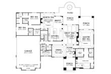 European Floor Plan - Main Floor Plan Plan #929-914