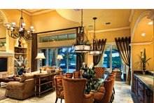 Mediterranean Interior - Dining Room Plan #930-440