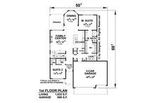 Traditional Floor Plan - Main Floor Plan Plan #20-2266