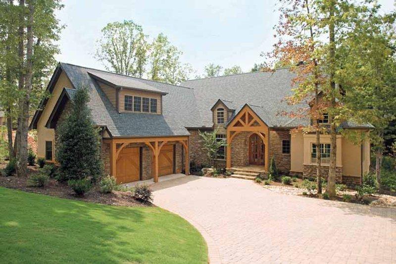 Dream House Plan - Craftsman Exterior - Front Elevation Plan #929-407