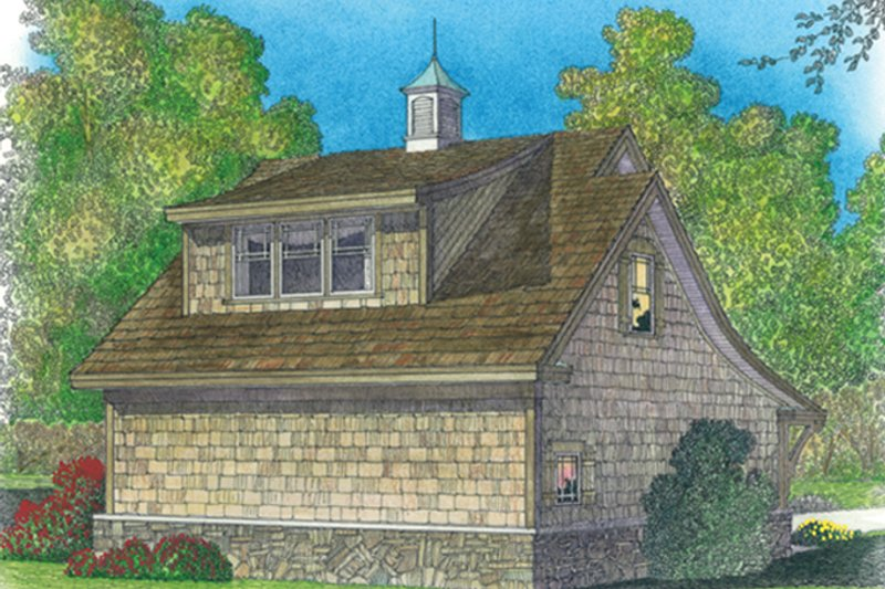 Craftsman Exterior - Rear Elevation Plan #1016-98 - Houseplans.com