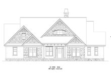 Dream House Plan - Craftsman Exterior - Front Elevation Plan #929-872