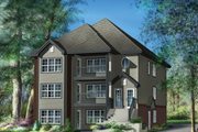 Country Style House Plan - 9 Beds 3 Baths 5689 Sq/Ft Plan #25-4612 Exterior - Front Elevation