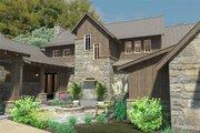Craftsman Style House Plan - 4 Beds 4 Baths 4164 Sq/Ft Plan #120-186