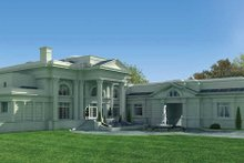 Architectural House Design - Classical Photo Plan #119-164
