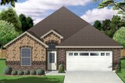 Traditional Style House Plan - 2 Beds 2 Baths 1766 Sq/Ft Plan #84-577 Exterior - Front Elevation