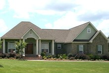 Home Plan - Traditional Exterior - Front Elevation Plan #21-291