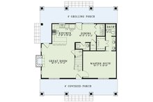 Country Floor Plan - Main Floor Plan Plan #17-2521