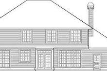 Craftsman Exterior - Rear Elevation Plan #48-219