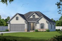 House Plan Design - Ranch Exterior - Front Elevation Plan #20-2312