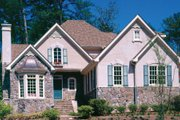 Cottage Style House Plan - 3 Beds 2.5 Baths 2424 Sq/Ft Plan #429-11 Exterior - Front Elevation