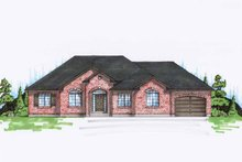 House Plan Design - Traditional Exterior - Front Elevation Plan #945-89