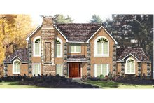 Dream House Plan - European Exterior - Front Elevation Plan #3-200