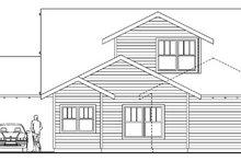 Dream House Plan - Craftsman Exterior - Rear Elevation Plan #124-611