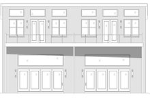 House Plan Design - Contemporary Exterior - Other Elevation Plan #932-51