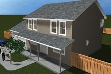 House Plan Design - Traditional Exterior - Front Elevation Plan #1060-33