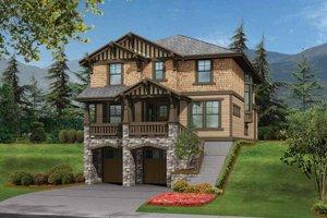 Home Plan - Craftsman Exterior - Front Elevation Plan #132-242