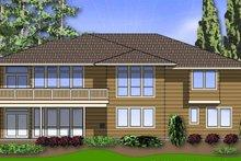 Dream House Plan - Mediterranean Exterior - Rear Elevation Plan #48-887