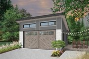 Contemporary Style House Plan - 0 Beds 0 Baths 480 Sq/Ft Plan #23-2635