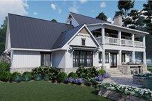House Plan Design - Southern Exterior - Rear Elevation Plan #120-260