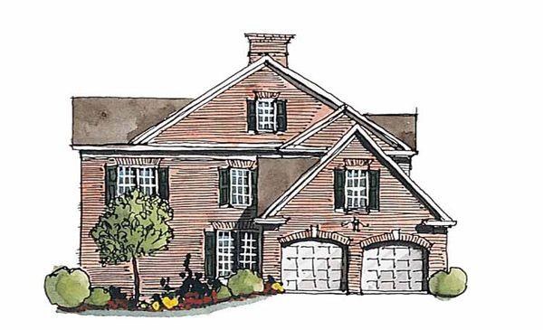 Classical Floor Plan - Other Floor Plan Plan #429-182