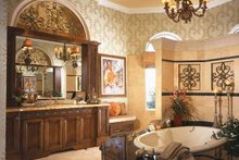 House Plan Design - Mediterranean Interior - Bathroom Plan #930-92