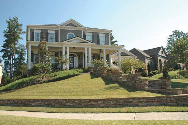 Classical Exterior - Front Elevation Plan #429-263 - Houseplans.com