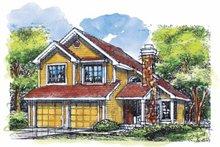 Home Plan - Bungalow Exterior - Front Elevation Plan #320-625
