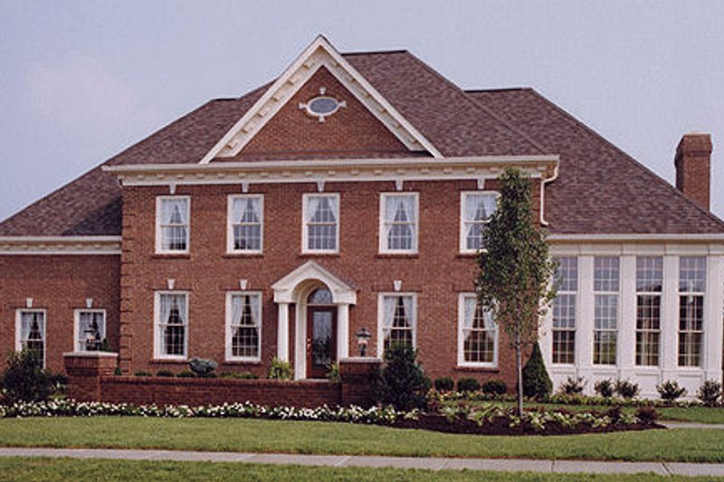 Southern Exterior - Front Elevation Plan #46-181 - Houseplans.com