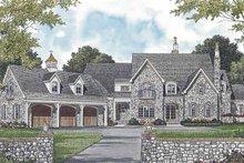 Architectural House Design - European Exterior - Front Elevation Plan #453-592