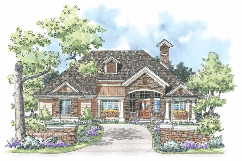 Country Exterior - Front Elevation Plan #930-183 - Houseplans.com