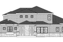 Dream House Plan - Colonial Exterior - Rear Elevation Plan #937-35