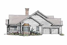 Home Plan - Ranch Exterior - Other Elevation Plan #429-172