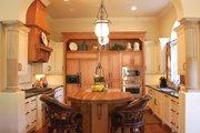 Mediterranean Style House Plan - 3 Beds 4.5 Baths 4509 Sq/Ft Plan #1058-14 Interior - Kitchen
