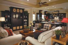 Country Interior - Family Room Plan #930-96