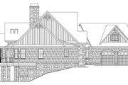 Craftsman Style House Plan - 4 Beds 4 Baths 2896 Sq/Ft Plan #929-970 Exterior - Other Elevation