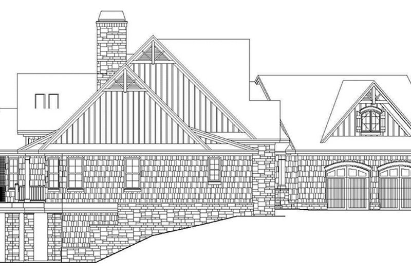 Craftsman Exterior - Other Elevation Plan #929-970 - Houseplans.com