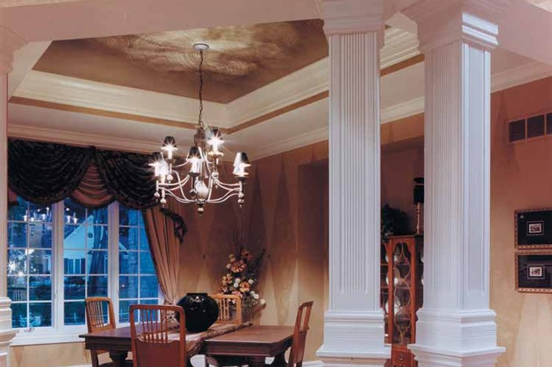 Craftsman Interior - Dining Room Plan #46-646 - Houseplans.com