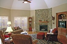 Dream House Plan - Ranch Interior - Family Room Plan #314-222