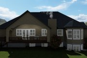 Traditional Style House Plan - 4 Beds 2.5 Baths 4989 Sq/Ft Plan #1060-61 Exterior - Rear Elevation