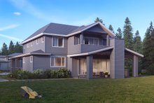 Home Plan - Traditional Exterior - Rear Elevation Plan #1066-19