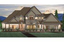 Craftsman Exterior - Front Elevation Plan #937-2