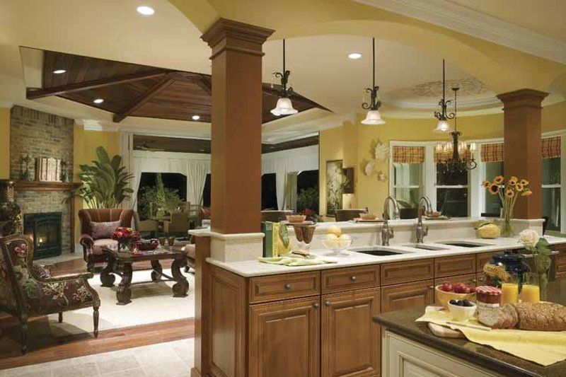 Southern Interior - Kitchen Plan #930-354 - Houseplans.com