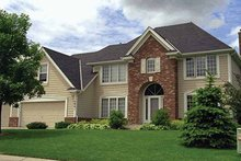 House Design - European Exterior - Front Elevation Plan #51-943