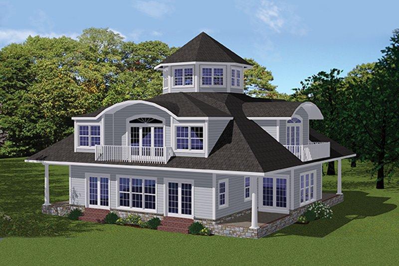 Contemporary Exterior - Front Elevation Plan #1061-7 - Houseplans.com