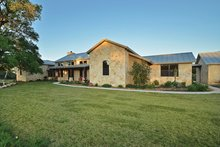 Home Plan - Country Exterior - Rear Elevation Plan #140-171
