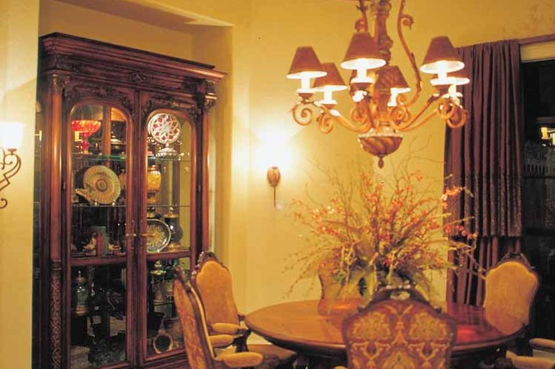 Mediterranean Interior - Dining Room Plan #417-566 - Houseplans.com